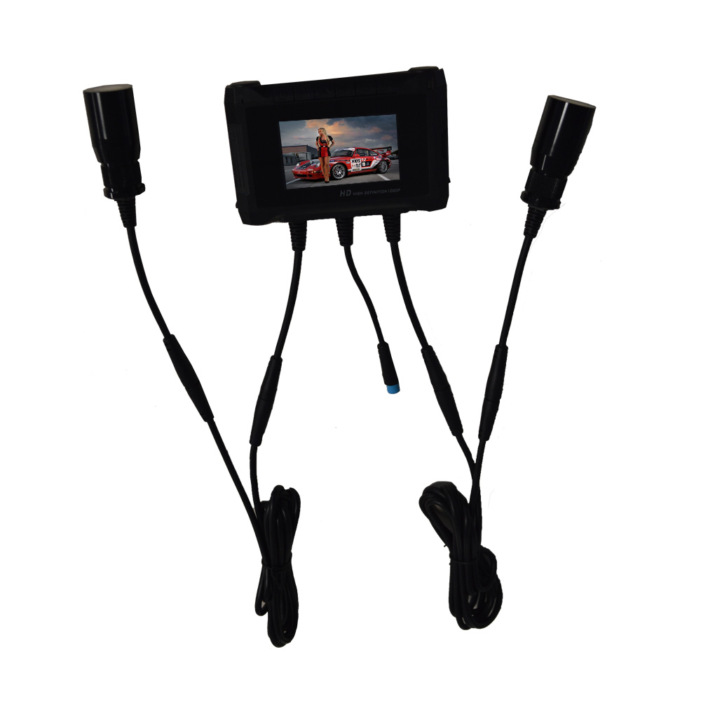 Dual Lens FULL HD 1080P Racing Camcorder Rally Car Camera Video Recorder DVR System