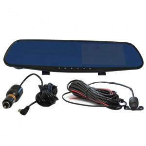 SV-MD70PR 4.3 Inch FULL HD Dash Cam Video Recorder Rearview Mirror Car Camera DVR Car Camera DVR Dual Dash Cam