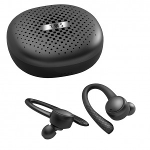 ZJ-T1Pro 2021 TWS wireless bluetooth Earphone 5.0 Earhook HiFi Stereo headset earbud Sport waterproof Headphone With Charging Case