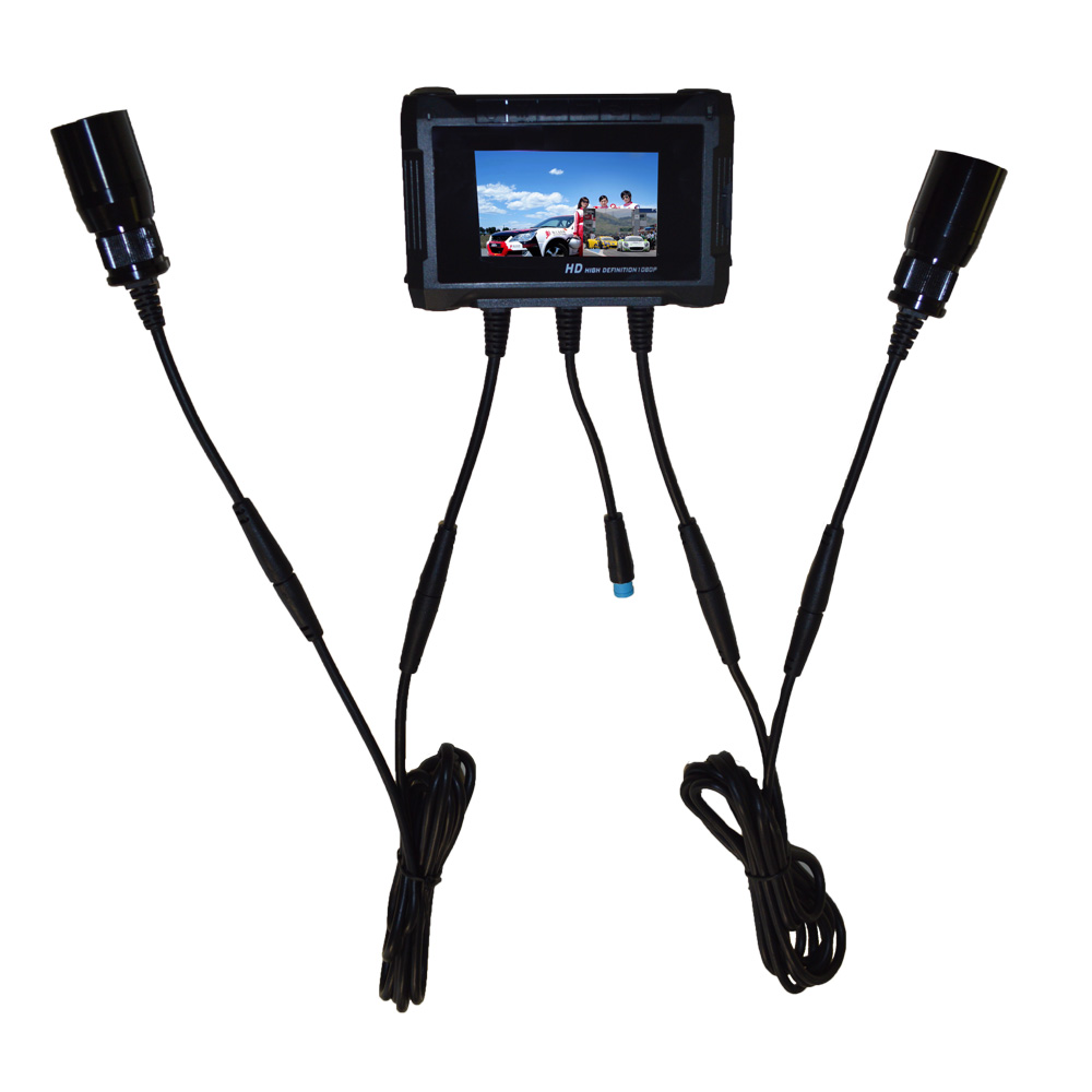 Dual Lens FULL HD 1080P Racing Camcorder Rally Car Camera Video Recorder DVR System Featured Image